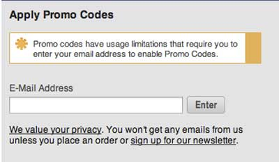 Apply Newegg promo code